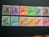 Vintage German Berlin postage stamps postal ephemera stamp collecting philately