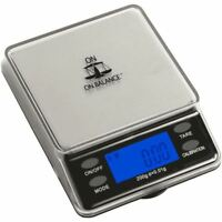 On Balance 200g x 0.01g Professional Digital LCD Mini Table Top Pocket Scale