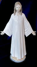 "LLADRO #5167 JESUS BRAND NEW IN BOX STANDING LARGE 15"" RELIGIOUS WOODEN BASE F/S"