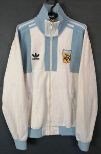 RARE MENS ADIDAS ARGENTINA NATIONAL 1978 JACKET TRAINING SOCCER FOOTBALL SIZE M