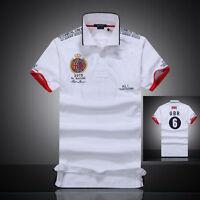 Men's Short Sleeve Polo T Shirt Customer Fit UK ITALY FRANCE UAE Uniforms Shirt