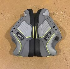 DVS Durham Size 9 Grey Lime Nubuck Militia Havoc Transom BMX DC Skate Shoes