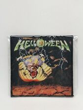 helloween mini lp patch for jacket or t-shirts, Iron on Badge U.S Seller