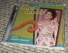 Alberta Adams Born With The Blues w Johnnie Bassett CD SEALED NEW vintage print