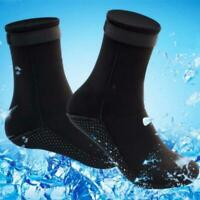 1 Pair 3mm Unisex Adult Neoprene Diving Scuba Surfing Swimming Snorkeling Socks