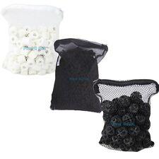 Aquarium Filter Media 1 lb Active Carbon + 50pcs Bio Balls + 500g Ceramic Rings
