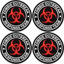 Livabit Zombie Outbreak Response Team PVC Morale Patch 3d Badge Hook #13 Airsoft