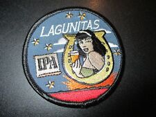 LAGUNITAS BREWING Lucky 13 Classic Horseshoe Logo PATCH craft beer brewery