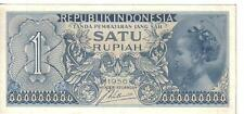 INDONESIA, 1  RUPIAH, 1956, UNC
