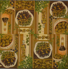 PAPER TABLE NAPKIN FOR CRAFT VINTAGE WINE OLIVES DECOUPAGE COFFE TEA PARTIES 178