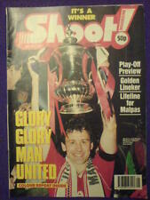 SHOOT! - GLORY GLORY MAN UTD - 26th May 1990