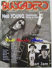 BUSCADERO 213 Neyl Young Pink Floyd Steve Earle Van Morrison Lou Reed NO cd  vhs