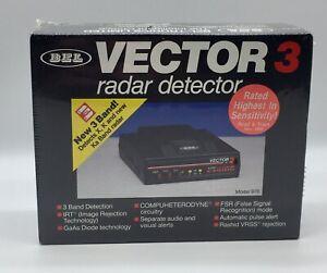 Vintage New Old Stock Sealed BEL VECTOR 3 IRT Radar Detector 3 Band X K Ka NIB