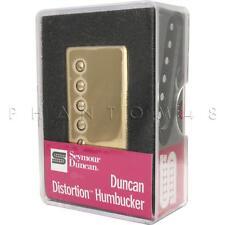 Seymour Duncan Sh-6b Distortion Hot Bridge Guitar Humbucker Pickup w/ Gold Cover