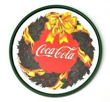 Coca-Cola Dessous De Verre coaster USA - Coke Queue Poisson LOGO dans couronne