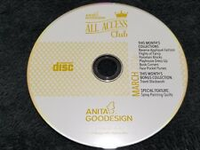 Anita Goodesign Embroidery Designs (Cd Only) All Access Vip Club March 2016