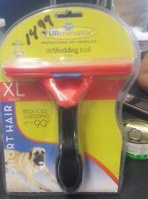 FURminator Short hair deShedding tool for X-Large pet Dogs