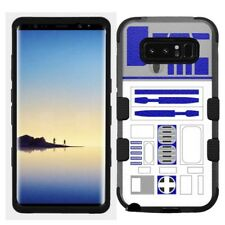 for Samsung Galaxy Note 8 Rugged Hard+Rubber Hybrid Case Star Wars Robot R2D2