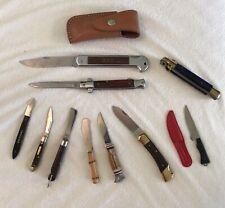 Vintage knife lot