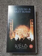 NEIL YOUNG AND CRAZY HORSE WELD VHS