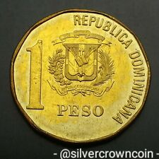 Dominican Republic 1 Peso 1992. KM#80.2. One Dollar coin. J.P. Duarte.