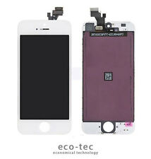IPHONE 5S WHITE AAA HIGH QUALITY FULL FRONT TOUCH SCREEN GLASS LCD DIGITIZER