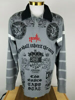 Men's Nostic Long Sleeve Graphic Collared Shirt XL