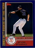 2003 Topps Baseball Base Singles #708-721 (Pick Your Cards)