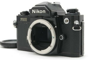 Nikon new FM2 late model  Black Body-Thorough Checked【Exc++++】from Japan 1081