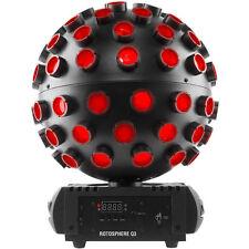 Chauvet DJ ROTOSPHEREQ3 Rotosphere Q3 RGBW LED Mirror Ball Simulator Effect New