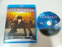 Ultravioleta Ultraviolet Milla Jovovich - blu-Ray + Extras Español English