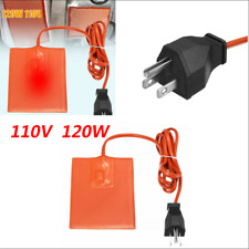 110V 120W Car Engine Oil Pan Sump Tank Electric Heating Pad Not Easy to Aging