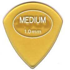 6 (SIX) COOL PICKS 1.00mm Beta Carbonate JAZZ Guitar Picks rubberized grip