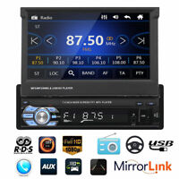 "9601G HD 7 ""1 DIN Autoradio Stéréo Lecteur MP5 GPS Sat NAV Carte UE Bluetooth G"