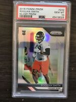 2018 Panini Prizm Roquan Smith Silver Rookie PSA 10 Chicago Bears RC