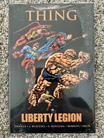 The Thing LIBERTY LEGION Marvel Comics Premier Classic Hardcover NEW SEALED