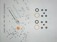 Daisy 780 790 7900 41 Two (2) O- Ring Seal Kits -Exploded View & E-Z Seal Guide