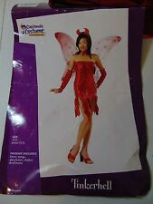 Tinkerhell Devil Halloween Costume Red Sequins Junior 3-5 No Wings #N14
