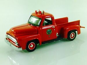 RACING CHAMPIONS 53 1953 FORD F-100 PICKUP TRUCK SANTA CLARA CTY CALIFORNIA FIRE