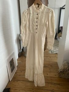 Edwardian Cream Vintage Dress