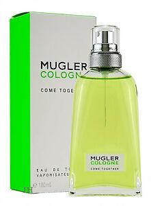 Mugler Cologne 100ml Eau de Toilette Nachfüllbar Neu & Originalverpackt