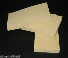 """3x DRY CLEANING CHEMICAL SPONGE SOOT/SMOKE ON WALLS/FIRE RESTORATION 6 x 3""""x 3/4"""