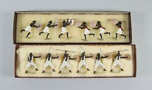 Imperial Collectors Soldiers Set #46 & 47 Beja Warriors,Sudan 1880 In Boxes