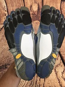 Vibram FiveFingers Bikila M349 Barefoot Running Shoes size 44 Gray