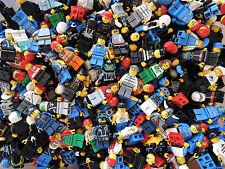 Lego 10 x Minifiguren Figuren Konvolut City Sammlung + Hüte Haare + 10 x Zubehör