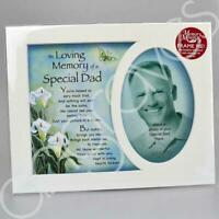 In Loving Memory of a Special Dad Photo Frame Mount Tribute Memorial Plaque