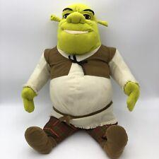 "2004 Hasbro DreamWorks Jumbo 25"" Shrek 2 Ogre Plush Stuffed Animal Toy Large"