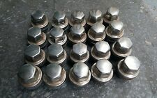 LAND ROVER DISCOVERY II /RANGE ROVER P38 WHEEL LUG NUTS SET OF 20 ANR3679 USED