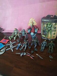 Halo infinite spartan Joyride Halo 2 and McFarlane Halo Action Figures lot