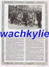 L'illustration n°3990 du 23/08/1919 fourragères Alsace Deauville Trouville Sem